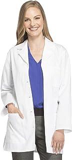 "Cherokee Women's Scrubs 32"" Button Back Belt Lab Coat"