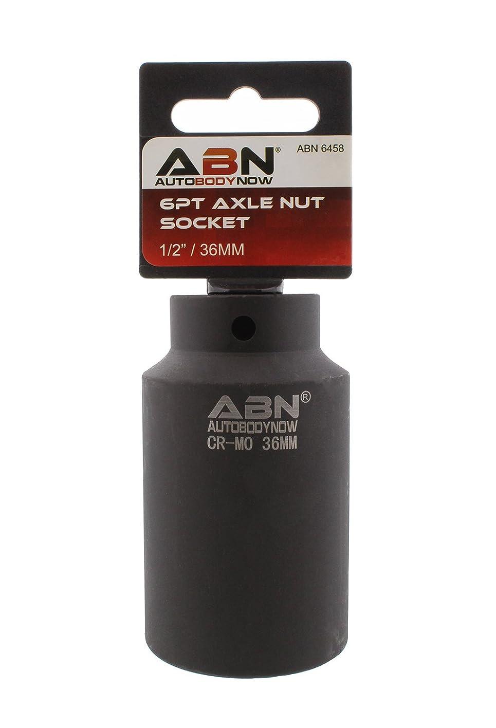 ABN Axle Nut Socket, 36mm, 1/2