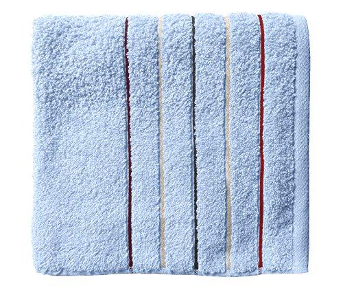 Santens Serviette de Toilette, Coton, Ciel, 50x100 cm