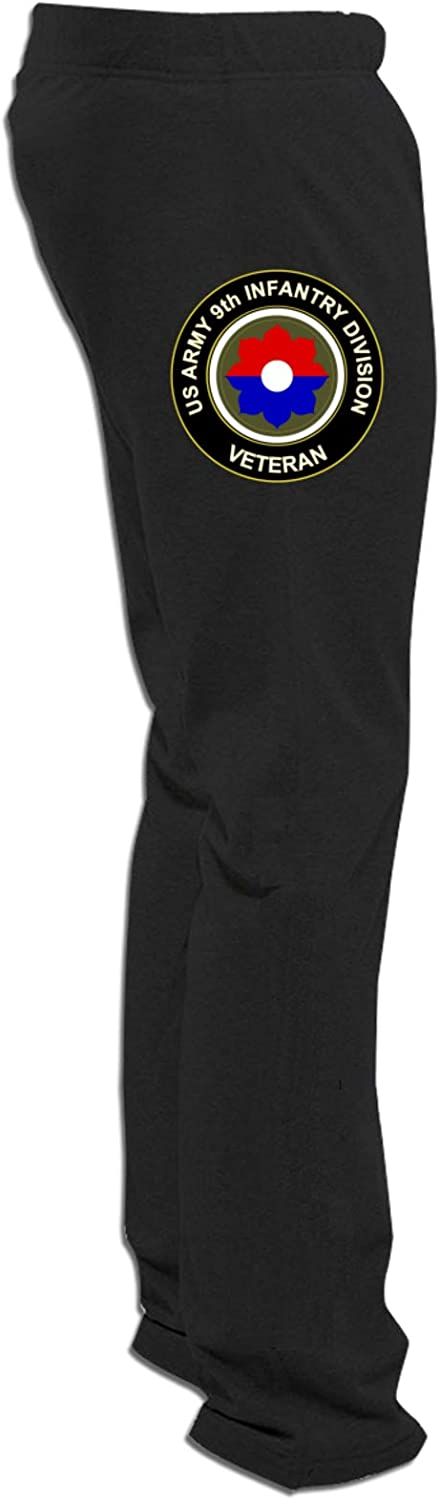 Us Army Veteran 9th Infantry Division Men's Stylin Trousers Loos