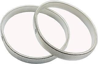 NewSilkRoad Men's Shirt Sleeve Metal Armbands/Garters/Holders M BCAC15776