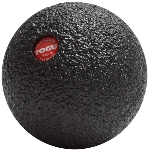 TOGU Blackroll Ball Negro - Masajeador (Negro, 120 mm, 120 mm, 120 mm)