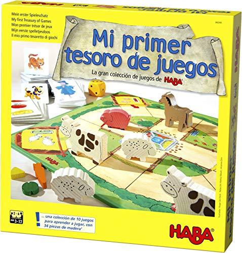 HABA Primer Tesoro de Juegos-ESP (302243)