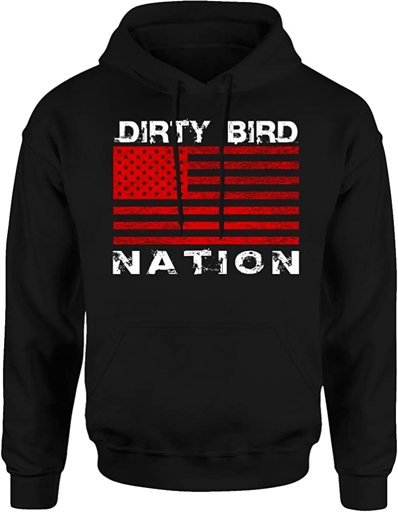 TWO Apparel Atlanta Nation Max 79% OFF Fans Hoodie Flag ! Super beauty product restock quality top!