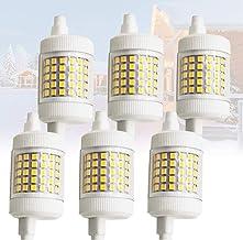 6x R7S LED-lamp 12 W 78mm J Type LED-gloeilampen Dimbare 6000K Dubbele Ended Schijnwerper 150W Halogeenlampen Vervanging v...