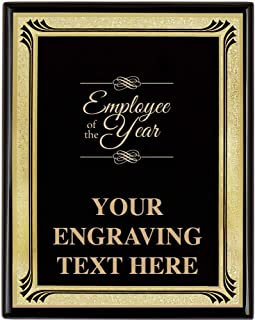 Best employee of the year plaque Reviews