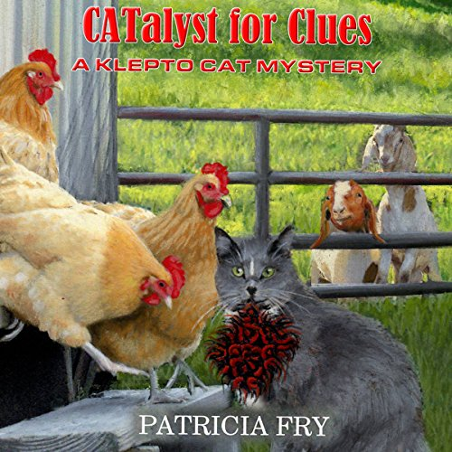 CATalyst for Clues audiobook cover art