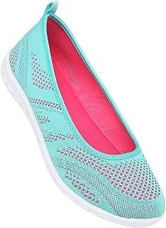 Life Womens Mesh Slipon Sports Shoes_Blue