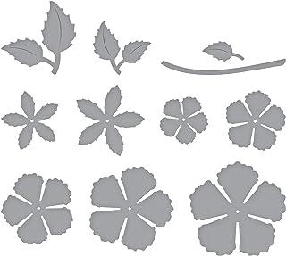 Spellbinders Shapeabilities Blooming Rose Etched/Wafer Thin Dies