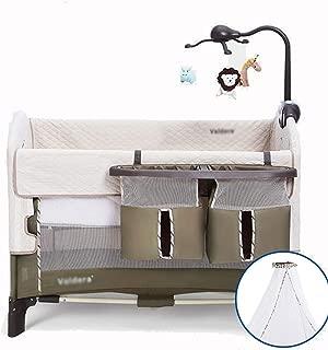 Baby Travel Bed, Foldable Crib, Travel Folding Crib, Newborn Crib 1-24 Months with Mattress (Style : Luxury)