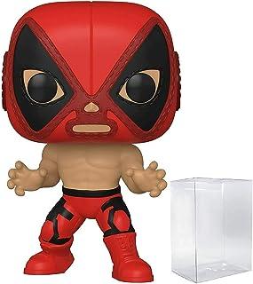 Deadpool El Chimichanga De La Muerte Pop #712 Pop Marvel Luchadores Vinyl Figure (Bundled with EcoTek Protector to Protect...