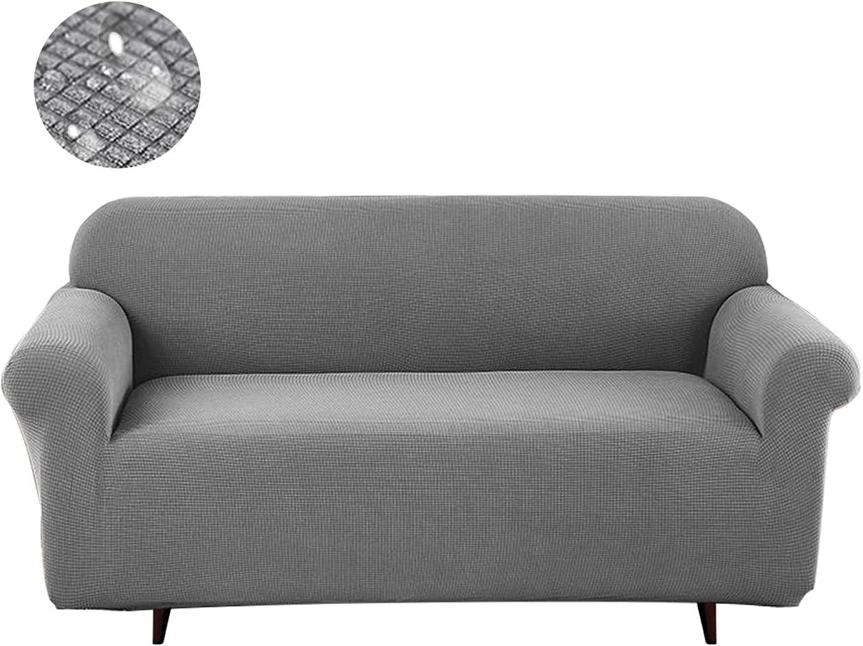 Waterproof SofaCoversfor3CushionCouch Grey Slipcover Ultra-Cheap National uniform free shipping Deals Sofa