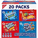 Nabisco Classic Mix Variety Pack, OREO Mini, CHIPS AHOY! Mini, Nutter Butter Bites, RITZ Bits Cheese, 20 - 1 oz Snack Packs (Packaging May Vary)
