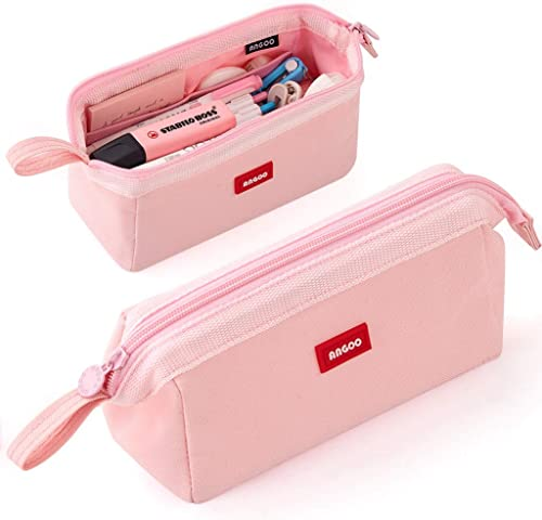 CICIMELON Pencil Case Large Capacity Pen Holder Pouch Multifunctional Aesthetic Stationery Bag for Middle High Primar...