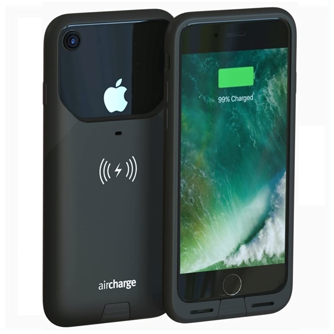 落とし穴行為王室Aircharge MFi WIRELESS CHARGING CASE, iPhone 7 AIR0337