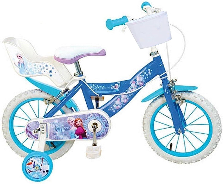 Fahrrad offiziellen Disney Die Eisknigin 14Zoll Frozen Mdchen