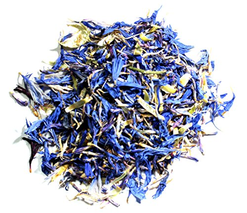 Nelson's Tea - Cornflower Petals (Centaurea cyanus) - Dried Blue Cornflower Petals - 1 oz.
