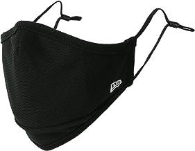 [ニューエラ] マスク メンズ 父の日 ギフト 吸汗速乾 UVカット フィルター 付き 洗える マスク ファッションマスク 黒マスク 速乾 ドライ ブラック Free