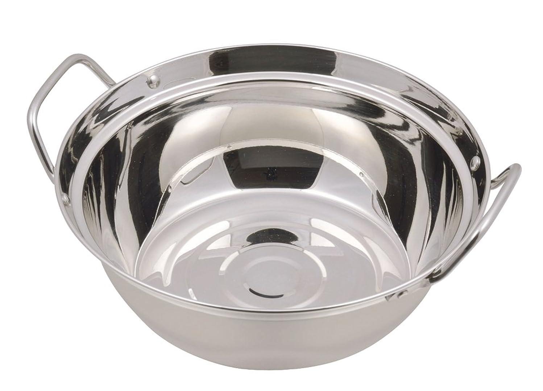 刃非効率的な表面的なパール金属 もつ鍋 両手鍋 20cm IH対応 NEWだんらん HB-1756
