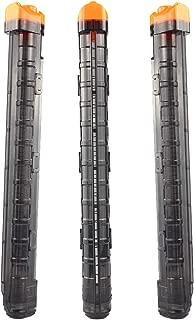 Hosim 3PCS Bullet Clips,12-Darts Nerf Rival Magazine Cartridge Replacement Quick Reload High Capacity for Nerf Rival Apollo XV-700,Rival Zeue XV-1200,Atlas Gun (Black)