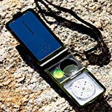Under Control Tactical Best Survival Electronic Compass & 10-in-1 Camping Multi Tool - Includes LED Light, Thermometer, & Hygrometer