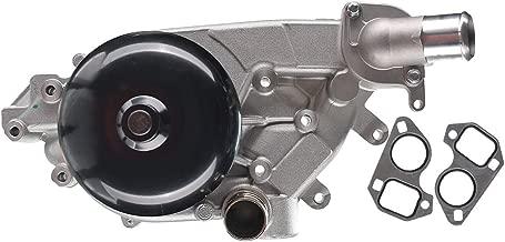 A-Premium Engine Water Pump with Gasket for Chevrolet Firebird Camaro 1998-2002 Corvette 1997-2004 Pontiac GTO 04-06 5.7L LS1 LS6