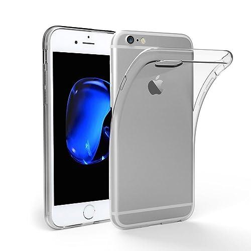 6969b834f5 iPhone6S ケース, DOSMUNG iPhone6 ケース,高品質クリスタル クリア 透明 TPU素材 落下防止