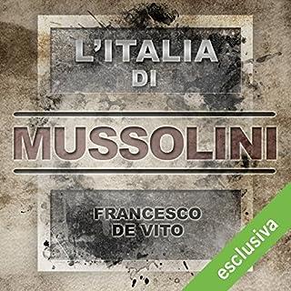L'Italia di Mussolini copertina