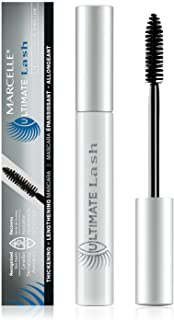 Marcelle Ultimate Lash Mascara, Dark Brown, Hypoallergenic and Fragrance-Free, 8.5 mL