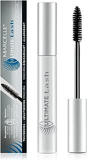 Marcelle Ultimate Lash Mascara, Dark Brown, Hypoallergenic and Fragrance-Free, 0.28 fl oz
