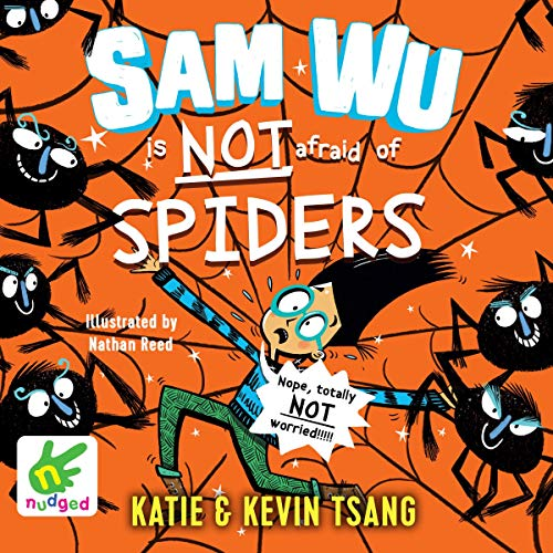 Sam Wu Is Not Afraid of Spiders!, Book 4  By  cover art