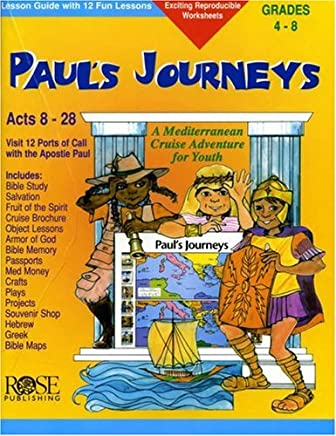 Paul's Journeys: Lesson Guide with 12 Fun Lessons (Take Your