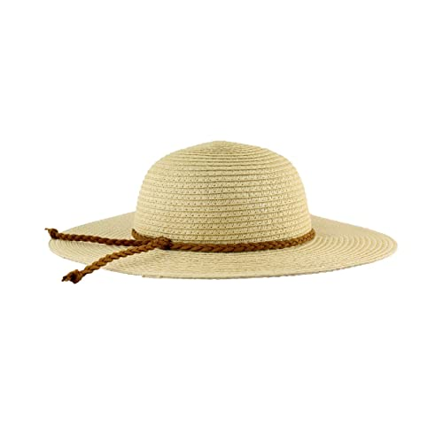 RuffleButts Baby Toddler Girls Floppy Straw Wide Brim Sun Hat 700b2f0a098d