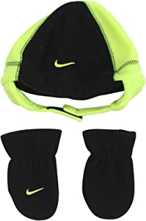 b61db5558dd Nike Infant Baby 2 Piece Fleece Hat and Mittens Set