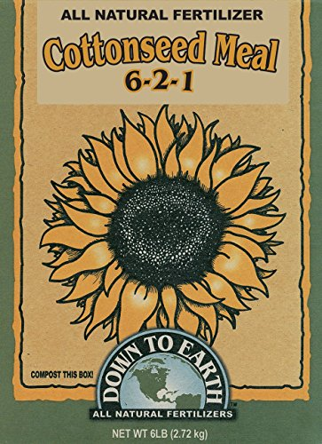 Down To Earth 6-Pound Cottonseed Meal 6-2-1 07809