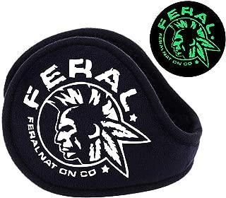 Winter Ear Muffs/Ear Warmers - Glow in the Night Fleece Earmuffs for Men & Women