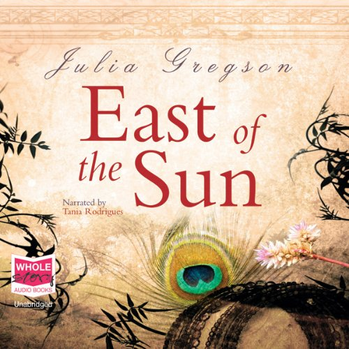 East of the Sun audiobook cover art