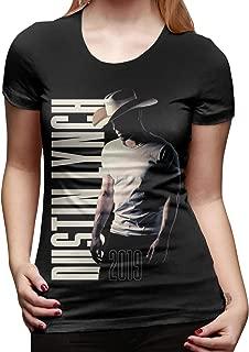 Dustin Lynch T Shirt Women's Cotton T Shirt Fashion O Neck Short Sleeve Tees