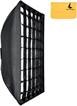 Godox 80x120cm Rejilla Honeycomb Softbox Bowens Monte para Estudio Estroboscópico Flash (SB-FW 80x120cm)