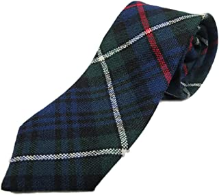 Boys Scottish Wool Tartan Tie
