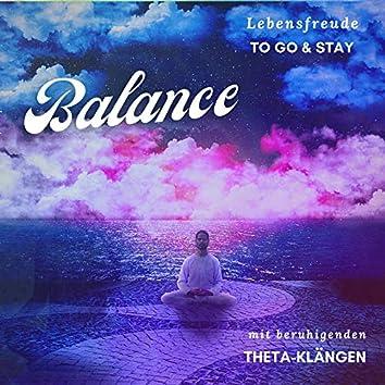Balance mit beruhigenden Theta-Klängen