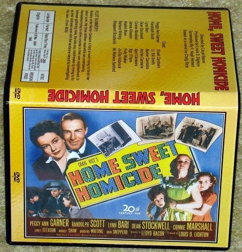 HOME SWEET HOMICIDE - DVD - Peggy Ann Garner, Randolph Scott by Lynn Bari
