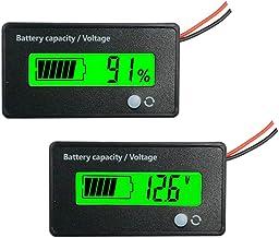 12V ACID Lead Battery Charge Level Indicator Battery Capacity Mete RbpHH
