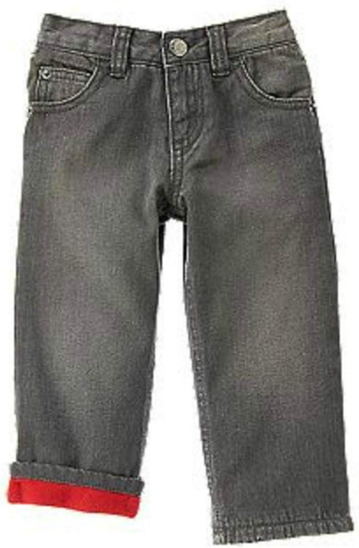 Our shop most popular Crazy8 Boys Straight Fit Fleece Lined Sz wholesale 4 Grey Denim Jeans