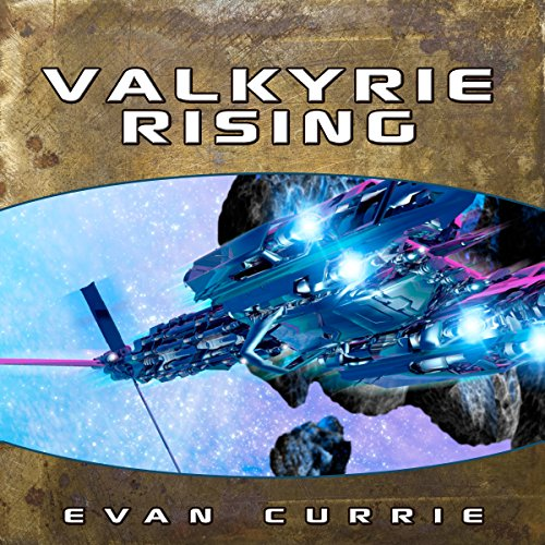 Valkyrie Rising audiobook cover art