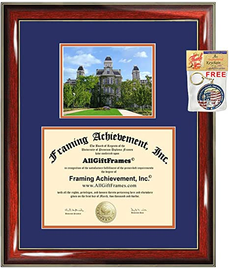 Syracuse University diploma frames Syracuse lithograph frame certificate framing campus sketch graduation degree gift college document case