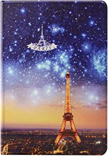 KenKe iPad 2018 2017 Case 9.7 inch with Cute 3D Cartoon Pattern, Soft Silicone iPad Smart Cover Magnetic Auto Sleep/Wake for Apple iPad 5th/6th Generation iPad Air 1 2 case (Tower of Paris)