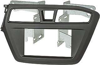 tomzz Audio 2419–000mascherina per autoradio Doppio DIN per HYUNDAI I20a partire dal 2015, colore: nero