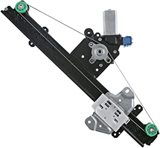 Brock Replacement Front Driver Side Power Window Regulator with Motor-6 Pin Connector Compatible with 13-19 Sentra