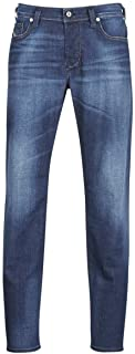 Men's Larkee Beex Stretch Washed Blue Regular Tapered...